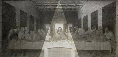 Da Vinci Last Supper Revisited Poster