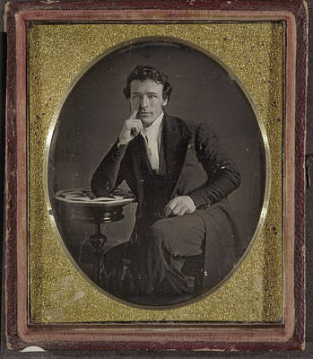 Daguerreotype Man, C1844 Poster by Granger