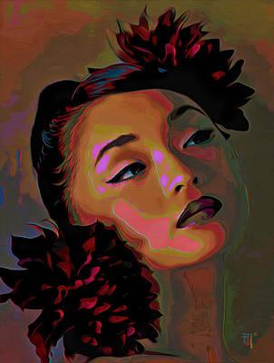 Dahlia Poster by  Fli Art