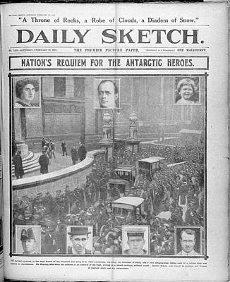 Daily Sketch Poster by British Library