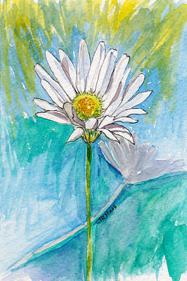 Daisy Expression Poster by Julie Maas