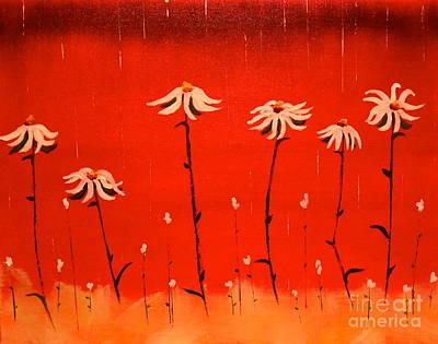 Daisy Rain Poster