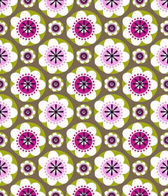 Daisy's Flower Garden Poster