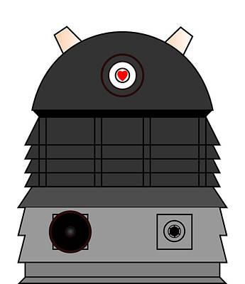 Dalek I Love You Poster