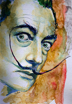 Poster featuring the painting Dali by Laur Iduc