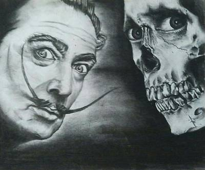 Dali Meets The Dead Poster by Ronnie Cantoro