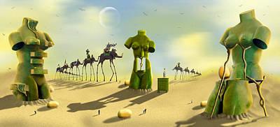 Daliland Park - Panoramic Poster