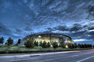 Dallas Cowboys Stadium Poster by Jonathan Davison
