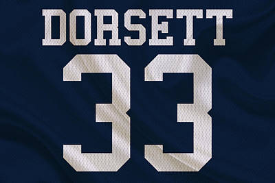 Dallas Cowboys Tony Dorsett Poster