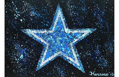 Dallas Cowboys Poster by Tony Herrera