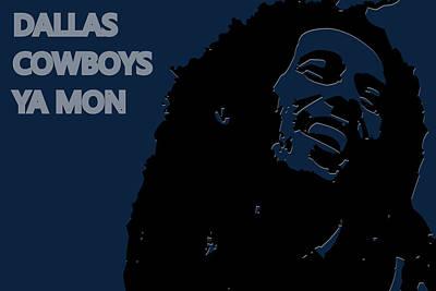 Dallas Cowboys Ya Mon Poster by Joe Hamilton
