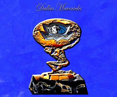 Dallas Mavericks Poster by Brian Reaves