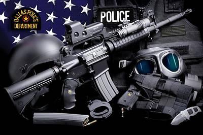 Dallas Police Poster