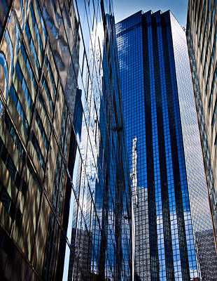 Dallas Reflections Poster by Mark Alder
