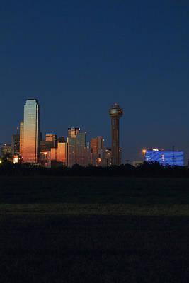 Dallas Sunset Poster by Jonathan Davison