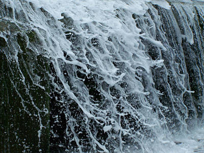 Dam Waterfall 4 Poster by Chris Flees