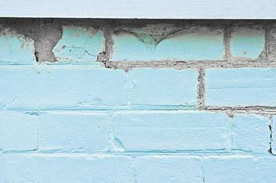 Damaged Brickwork Poster by Tom Gowanlock