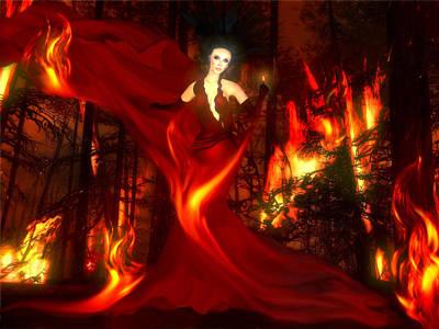 Dame Of Destruction Poster