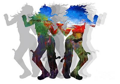 Dance B Poster by Manik