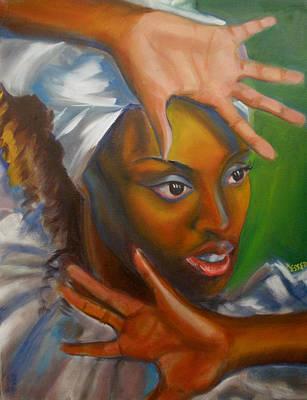 Dance Of Hands Poster