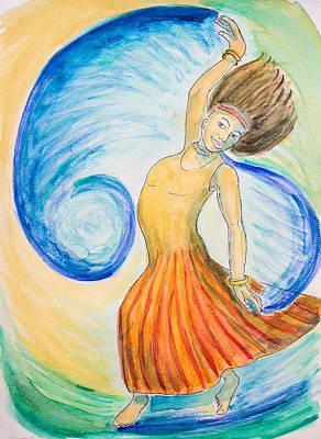 Dance Of Joy Poster