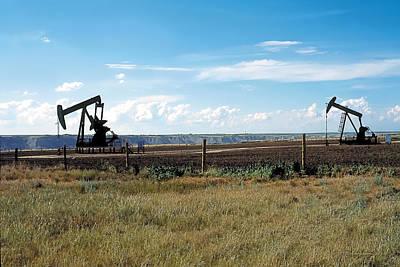 Dance Of Oil Poster