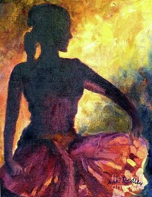 Dance Of Parvati Poster by Ann Radley