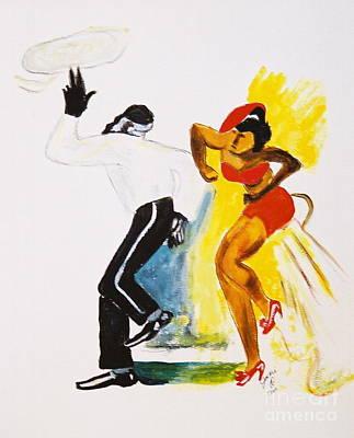 Dance Series- Lindy Hop Poster