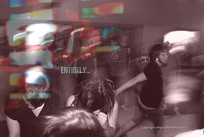 Dance Swirl Poster by Angela Williams Duea