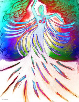Dancer 4 Poster by Anita Lewis