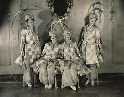 Dancers In Persian Costumes Poster