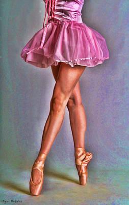 Dancer's Legs Poster