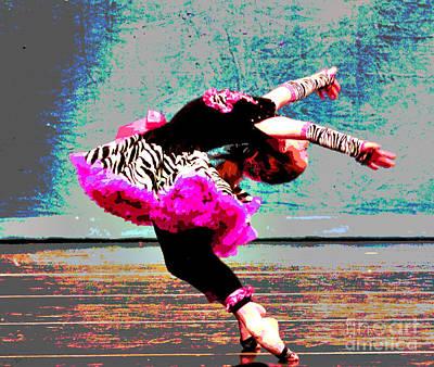 Dancevii Poster by Linda Cox