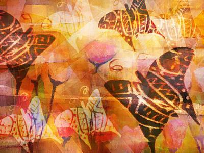 Dancing Butterflies Poster by Lutz Baar