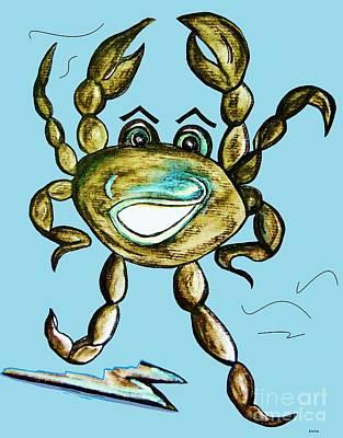 Dancing Crab Poster