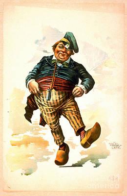 Dancing Dutchman 1890 Poster