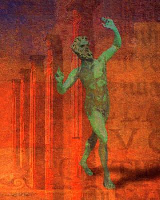 Dancing Faun Poster
