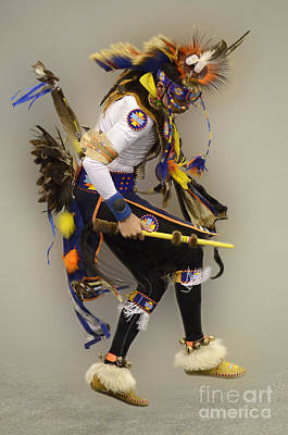 Pow Wow Dancing For The Spirit Poster