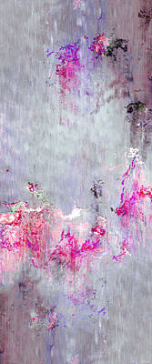 Dancing In The Rain - Abstract Art Poster