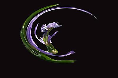 Dancing Iris 3 Poster
