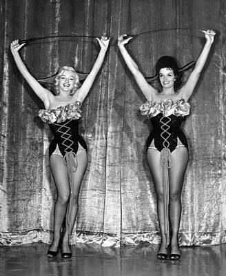 Dancing Marilyn Monroe  Poster