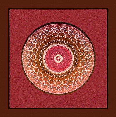 Dancing Women Mandala  Poster by Kandy Hurley