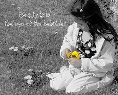 Dandelion Bouquet Poster