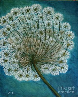 Dandelion Painting     Sold Poster
