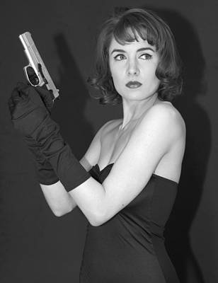 Poster featuring the photograph Dangerous Woman II by Jim Poulos