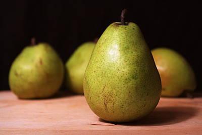 D'anjou Pears Poster by Joseph Skompski
