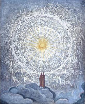 Dante's Paradise Empyrean Poster