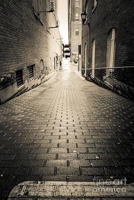 Dark Alley Poster by Edward Fielding