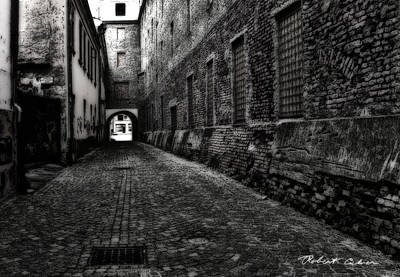 Dark Alley Poster by Robert Culver