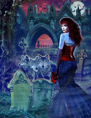 Dark Bride Poster by Andrew Farley